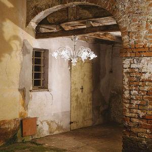 MULTIFORME - golden century 86 - Chandelier Murano