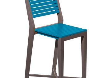 City Green - chaise haute de jardin portofino - 43.6 x 55 x 111 - Bar Chair