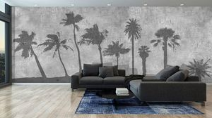 IN CREATION - ombres de palmiers - Panoramic Wallpaper