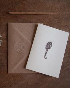 NINN APOULADAKI - hippocampus - Thank You Card