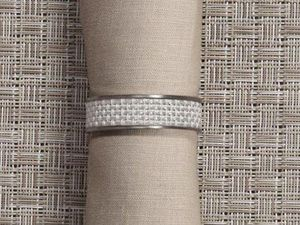 CHILEWICH - ---mini bw - Napkin Ring