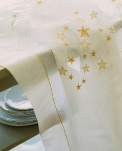 Noel - etoiles - Christmas Tablecloth