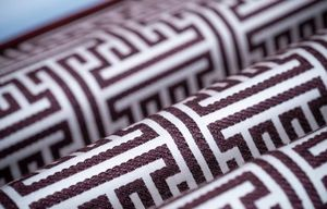 BROCHIER - burgundy - Upholstery Fabric