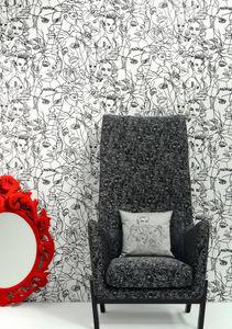 JEAN PAUL GAULTIER / Lelievre - croquis - Furniture Fabric