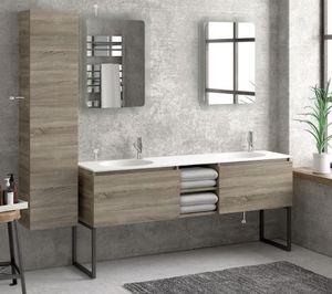 ITAL BAINS DESIGN - space 175 avec pieds - Bathroom Furniture