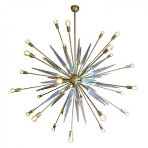 ALAN MIZRAHI LIGHTING - dv2072 glass sputnik - Chandelier