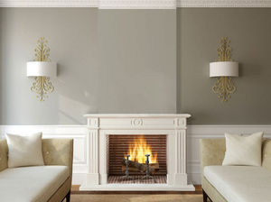 Chazelles - marquise - Open Fireplace