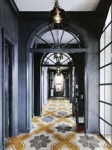 14 ORA ITALIANA - le riggiole tratto giallo - Floor Tile