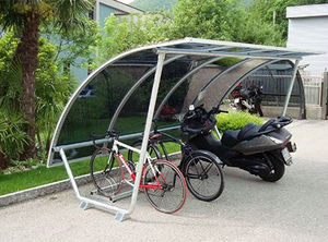 MOBURBAIN - abri vélos type n° 12-e-tubo - Bike Shed