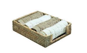 ROTIN ET OSIER - porte-serviettes invités - Bathroom Basket