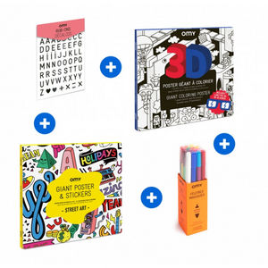 OMY - kit 8 - 12 ans - Colouring Book