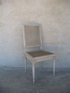 Coup De Soleil - montmajour - Chair With Straw Seat