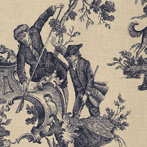 Busby & Busby -  - Toile De Jouy Print Material