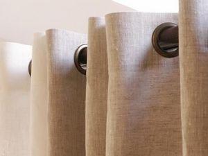 Nature et Maison - lin sauvage - Eyelet Curtain