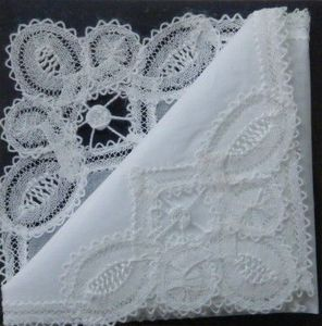 Abbey Lace & Tapestries Of Bath -  - Handkerchief