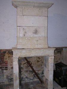Antik Materiaux -  - Open Fireplace