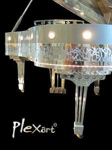 Gary Pons France - gary pons sy213 plexart - Medium Grand Piano