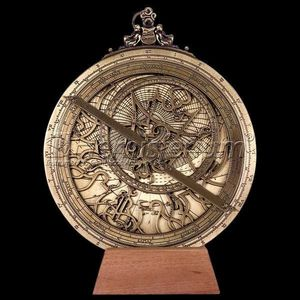 HEMISFERIUM - astrolabe planisferique - Spherical Astrolabe