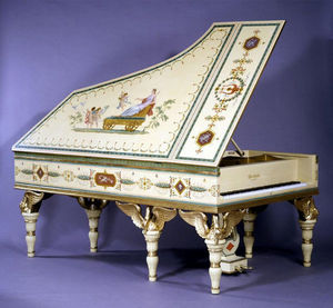 Adrian Alan - the swan piano - Medium Grand Piano