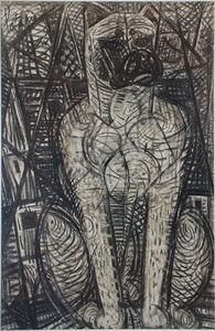 Antiquités Eric de Brégeot -  - Ink Drawing