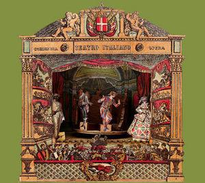 Sartoni Danilo Ravenna Italy - musi box - Puppet Theatre