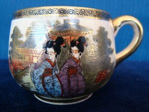 ANTIQUE AND NATURAL CURIOSITIES DI VIRTUDAZO MARIA THERESA - tasse satsuma - Tea Cup