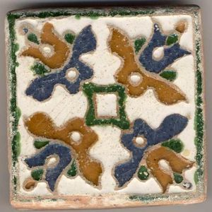 ANTIGÜEDADES LINARES -  - Antique Tile