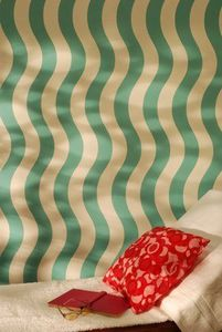 The Stencil Library - dm2 - waves - Wall Decoration