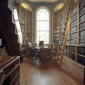 Howdle Bespoke Furniture Makers - oak library - Bookcase