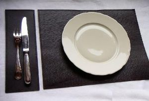 MIDIPY - set de table noir - Place Mat