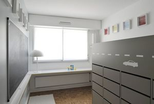 CIEL ARCHITECTES - vroum room - Children's Bedroom 4 10 Years