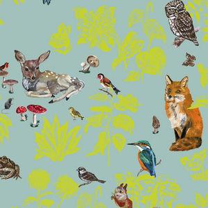 Domestic - forêt verte - Panoramic Wallpaper