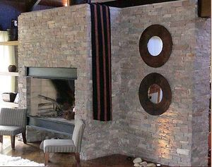 ORIGEN DISENOS PATAGONICOS -  - Central Fireplace