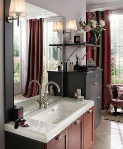 Delpha - empreinte - tradition brique - Washbasin Counter