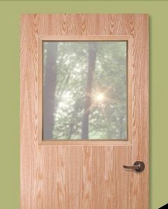 ANEMOSTAT -  - Glass Panel For Door