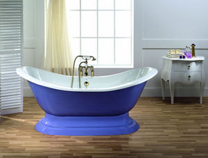BLEU PROVENCE - thim con base - Freestanding Bathtub