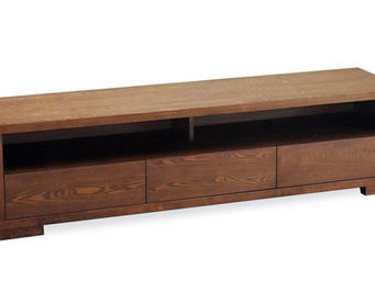 Miliboo - jairo meuble tv 3 tiroirs - Media Unit
