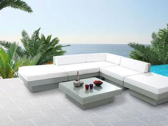 Miliboo - maurice jardin chocolat - Garden Furniture Set