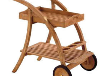 COMPTOIR D'OUTREMER - desserte courbe - Garden Trolley
