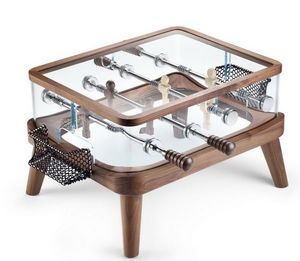 Teckell - intervallo - walnut - Football Table