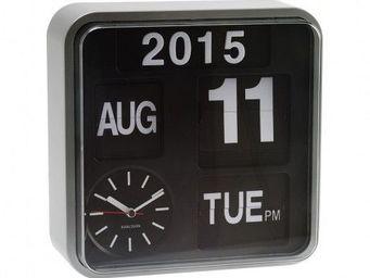 Karlsson Clocks - karlsson - horloge murale mini flip - karlsson - g - Alarm Clock