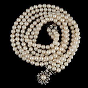 Expertissim - collier triple rangs de perles de culture - Necklace