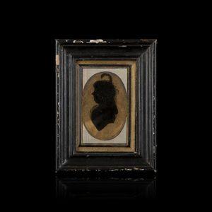 Expertissim - portrait de dame en buste. vers 1800 - Miniature Portrait