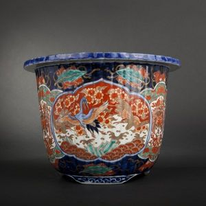 Expertissim - japon. vase imari - Plant Pot Cover