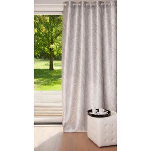 Maisons du monde - rideau arbre gris - Eyelet Curtain