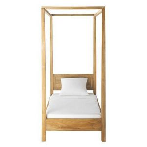 Maisons du monde - lit à baldaquin amsterdam - Single Canopy Bed