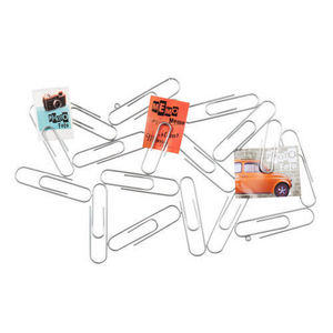 Maisons du monde - pince photo trombones silver - Picture Holder