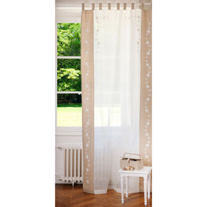 MAISONS DU MONDE - rideau large brighton - Tab Top Curtain