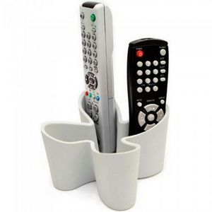 Manta Design - range-télécommandes déco grey - Remote Control Holder