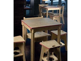 béô design - tabouret en bois design sakula-eko - Children's Stool